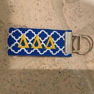 Accessories - SOLD - Tri Delta Keychain